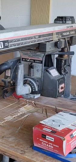 Radial Saw Craftsman for Sale in St. Petersburg,  FL