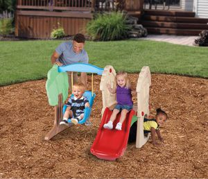 Little Tikes Hide & Seek Climber and Swing - Brown/Tan for Sale in Austin, TX