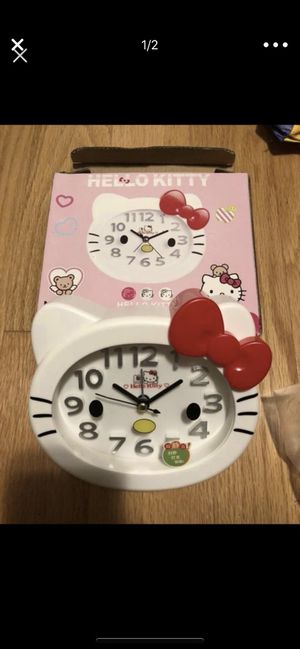 Hello kitty clock for Sale in San Francisco, CA