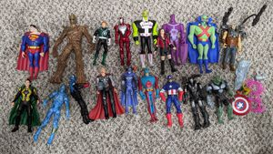 Action figure lot DC/ Marvel $15 for all for Sale in Summerfield, FL