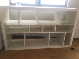 White dresser or bookcase for Sale in Brooklyn, NY