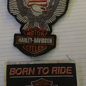 VINTAGE HARLEY DAVIDSON PATCHES for Sale in University Place, WA