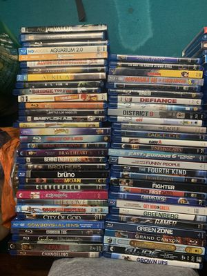 Blu Rays for sale $5each for Sale in San Antonio, TX