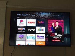 TCL ROKU 55' smart tv for Sale in Stockton, CA