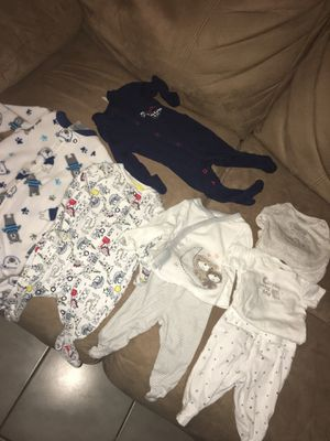 Newborn baby clothes bundle for Sale in Philadelphia, PA