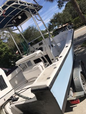 22' Center Console boat for Sale in Fort Lauderdale, FL