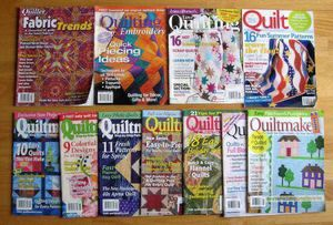 11 issues of Quiltmaker and other assorted quilt magazines for Sale in Steilacoom, WA