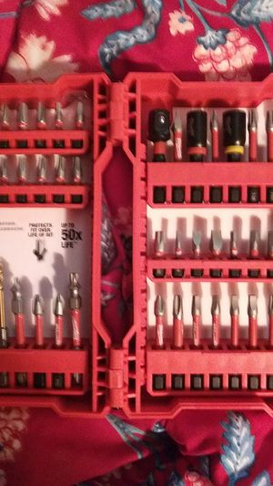 Shock wave impact duty drill bit set for Sale in Ravenna, OH
