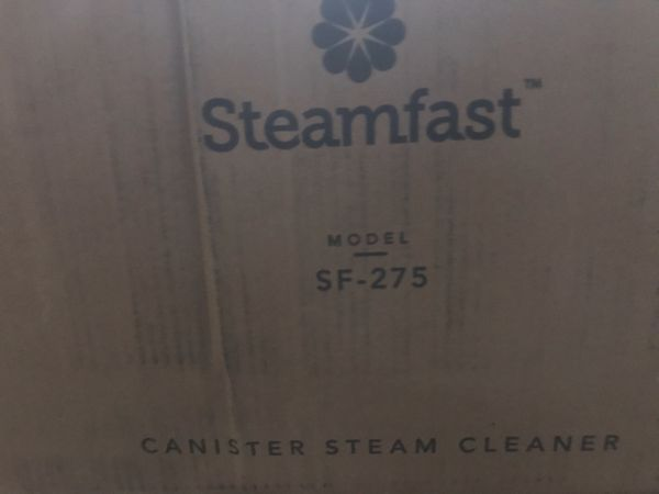 New Steamfast SF-275 Canister Steam Cleaner