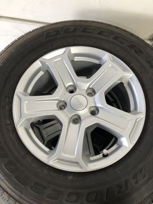 Jeep Wrangler -5 Brand new wheels/tires for Sale in Temecula, CA