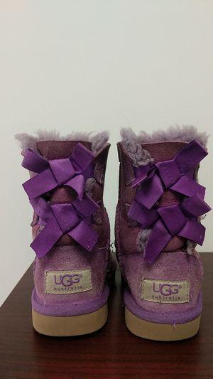 UGG Australia Kids size 9, purple for Sale in Brockton, MA