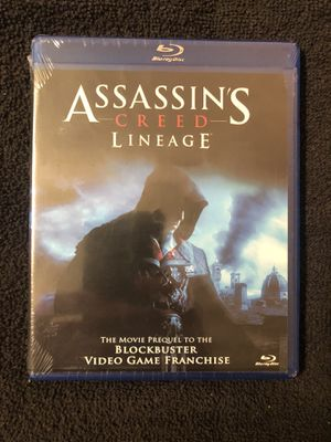 Assassin's Creed Linage Blu-Ray(New) for Sale in Bella Vista, AR