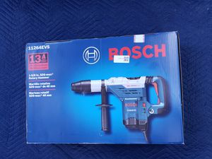 Bosch 13 Amp 1-5/8 in. Corded SDS-Max Variable Speed Concrete/Masonry Rotary Hammer Drill with Carrying Case for Sale in College Park, GA