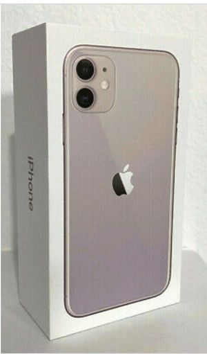 iPhone 11 purple 64 gigs Brand new in sealed box for Sale in Haines City, FL