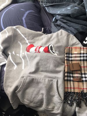 Supreme hoodie and Burberry hoodie for Sale in Vacaville, CA