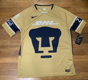 Puma UNAM Nike Soccer Jersey Men's Large Brand New for Sale in Portland, OR