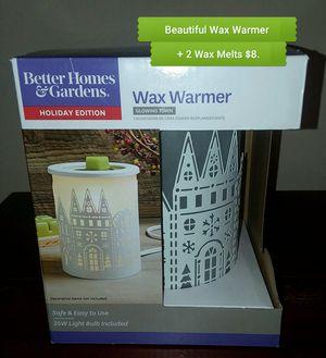 Beautiful NEW Better Homes and Gardens Wax Melt Warmer $8. for Sale in Newport News, VA