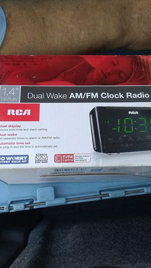 RCA alarm clock for Sale in Chandler, AZ