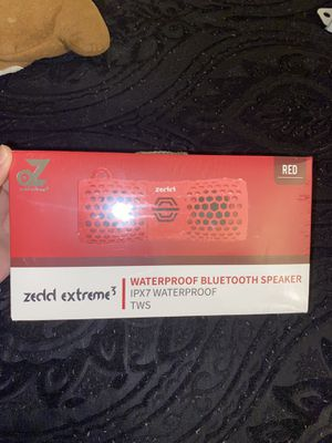 Zedd extreme 3 waterproof Bluetooth speaker for Sale in Richmond, VA