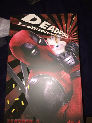 DEADPOOL 2 1/6 COLLECTABLE ACTION FIGURE for Sale in Greenbelt, MD