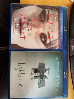 2 Scary Blu Rays for Sale in Bellevue, WA