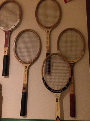 Vintage MidCentury Hall of Fame Tennis Rackets for Sale in Maple Valley, WA