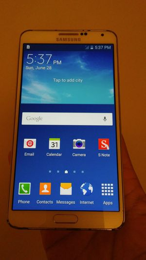 Samsung galaxy note 3 any carrier works great for Sale in Los Angeles, CA