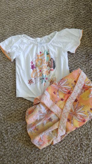 Disney Moana skirt set for Sale in Chula Vista, CA