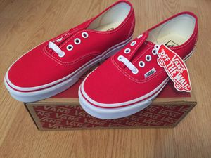 Red Vans Size 6.5 for Sale in Fresno, CA