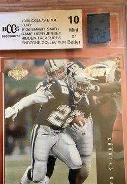 1999 Collector's edge Emmitt Smith Mint 10 Football Card for Sale in Marietta,  SC