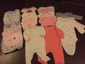 Newborn lot girls baby clothes for Sale in Columbus, OH