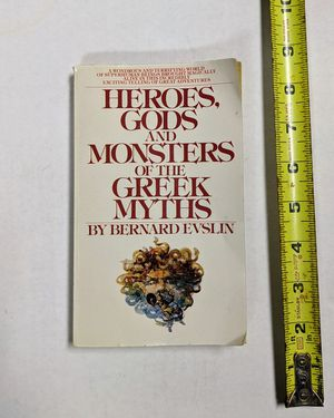 Book: HEROES, GODS AND MONSTERS OF THE GREEK MYTHS by Bernard Evslin for Sale in Independence, MO
