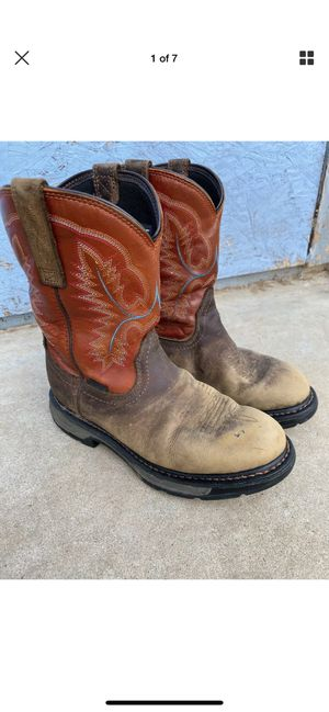 Mens Preowned Ariats Western Boots Size 7.5 for Sale in Chula Vista, CA