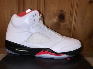 "Air Jordan 5 Retro ""Fire Red"" for Sale in Haledon, NJ"