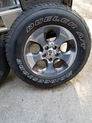 Wheels and tire jeep wrangler nice for Sale in Hyattsville, MD