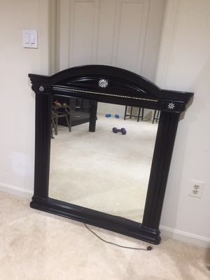 Mirror for a dresser/ dresser for sale too. for Sale in Rockville, MD