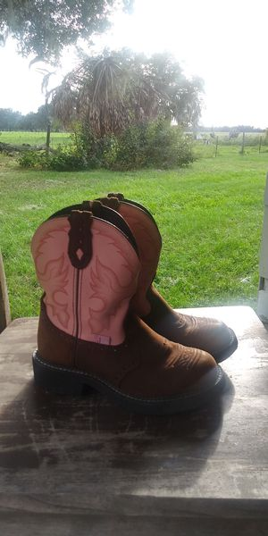 gypsy justin boots for Sale in Lithia, FL