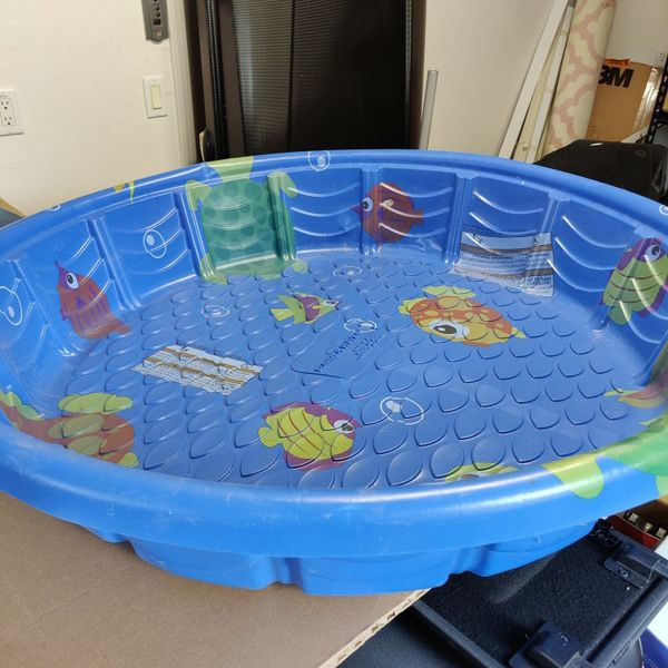 Free Kiddie Pool 3.6ft Wide 8 Inches Deep