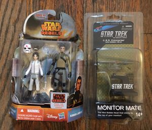 STAR WARS STAR TREK LOT TOY MONITOR MATE for Sale in Brooklyn, NY