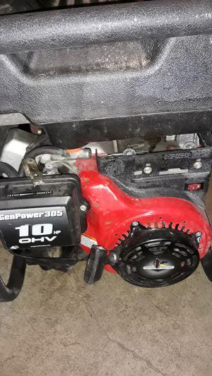Coleman powermate 6250 portable generator for Sale in Eugene, OR