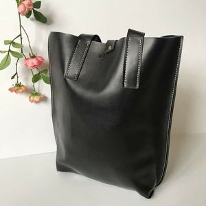 New Retro black vintage leather tote bag for Sale in GRANT VLKRIA, FL