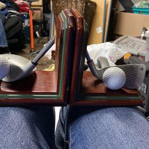 Golf Book Ends for Sale in Stockton, CA