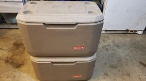 2 Coleman 70qt Xtreme coolers for Sale in Oregon City, OR