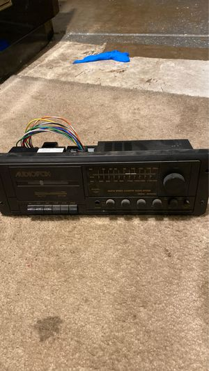 Jayco eagle original radio for Sale in Plainfield, IL