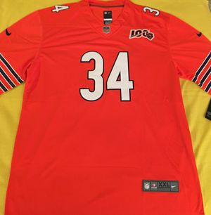 Walter Payton bears Orange football jersey brand new 2XL $35 for Sale in Forest Park, IL