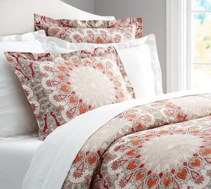 Pottery Barn king duvet cover and two shams for Sale in Shenandoah Junction, WV
