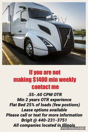 Cdl drivers wanted for Sale in Chicago, IL