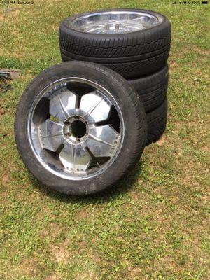 Used 5 Spoke Chrome Rims for Sale in Decatur, GA