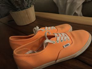 Neon Orange Lo Pro Vans for Sale in Wilmington, NC