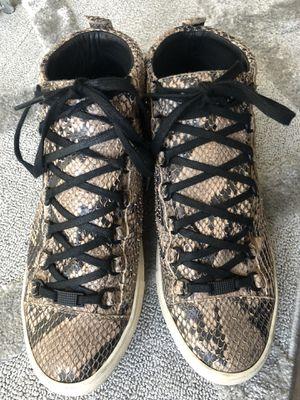 Balenciaga Hightop Arena Snakeskin Sneaker for Sale in Washington, DC